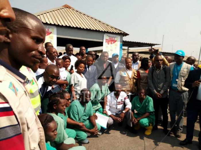 RDC: deux malades d