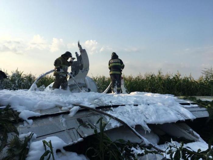 Airbus-Jet gelingt spektakuläre Notlandung in Maisfeld