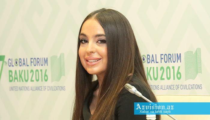 Leyla Əliyeva İnformatika Olimpiadasının açılışında