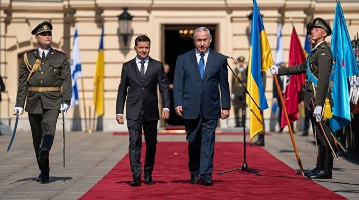 """Zelenski """"Qolodomor""""la bağlı Netanyahuya çağırış etdi"""