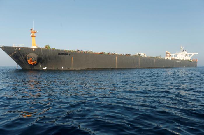 Washington veut saisir un pétrolier iranien relâché par Gibraltar
