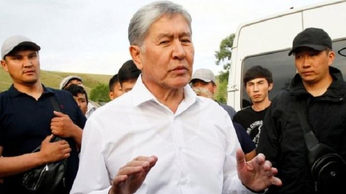 Almazbek Atambayev təslim oldu