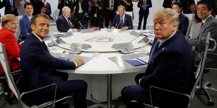 G7 : pour les dirigeants, il est «trop tôt» pour réintégrer la Russie
