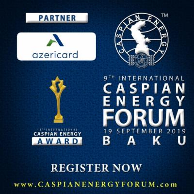 """""""AzeriCard"""" es socio del """"Foro de Energía del Caspio Bakú – 2019"""""""