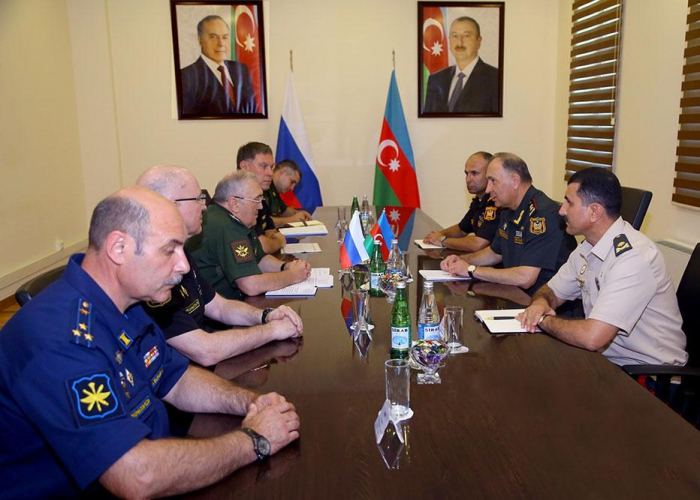 Delegation of Russian Defense Ministry on working visit in Azerbaijan