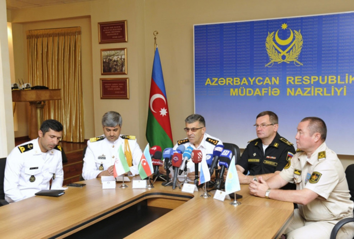"""Press conference was held in connection with the completion of the """"Sea Cup-2019"""" international contest -  VIDEO"""