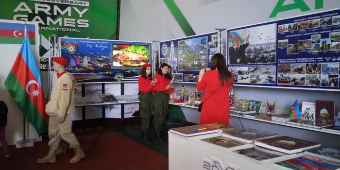 Azerbaijani pavilion created at Alabino range in Moscow