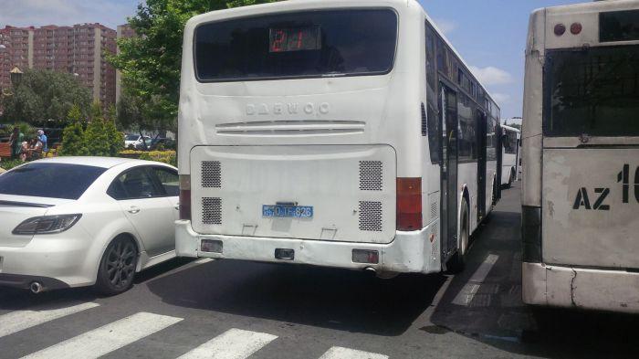 Xırdalanda təmir avtobusların işini çətinləşdirdi