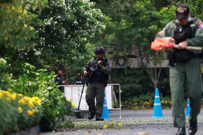 Three small blasts hit Bangkok as city hosts major security meeting