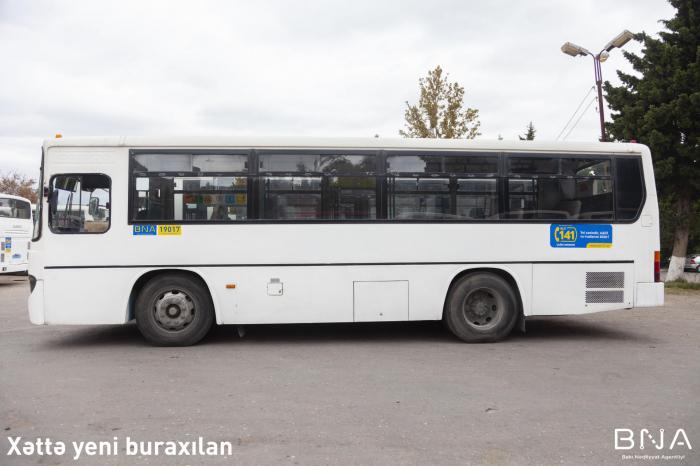 - avtobusları dəyişdiriləcək