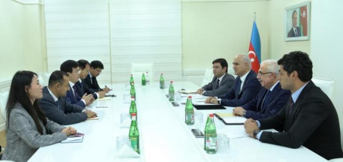 Corporación de construcción china se interesa en proyectos de infraestructura en Azerbaiyán