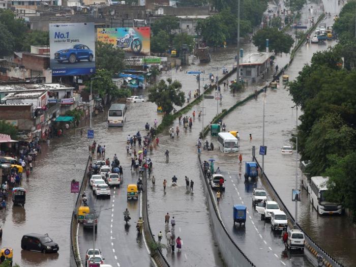 Des inondations en Inde font 95 morts, des milliers de déplacés