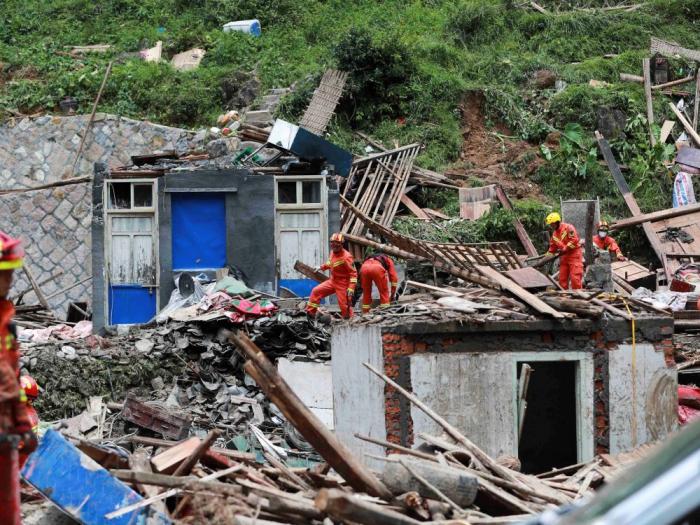 Chine:   le bilan du typhon s