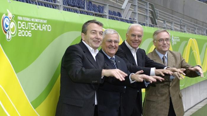 Anklage gegen frühere Spitzenfunktionäre des DFB
