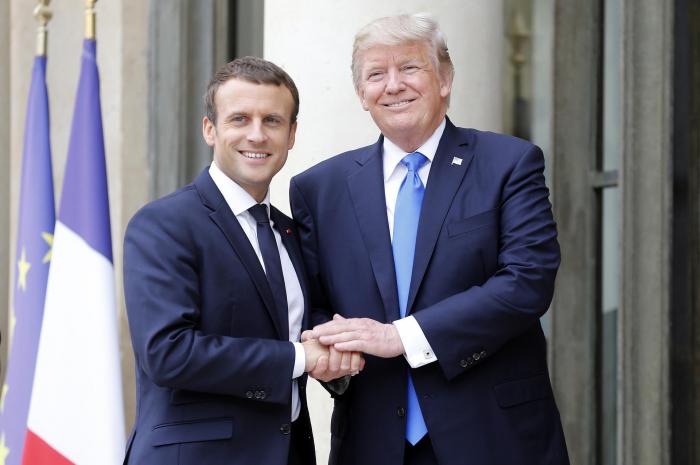 Trump agreed with Macron