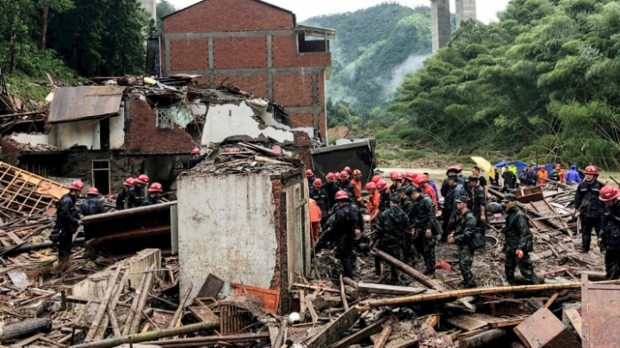 Mindestens 43 Unwetter-  Tote in China
