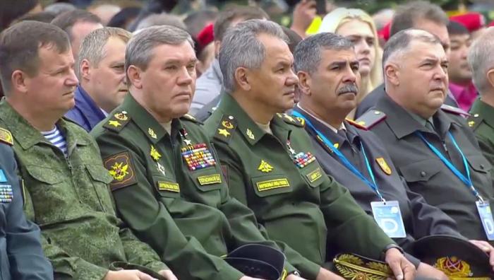 """Müdafiə naziri """"Beynəlxalq Ordu Oyunları - 2019""""un açılışında"""