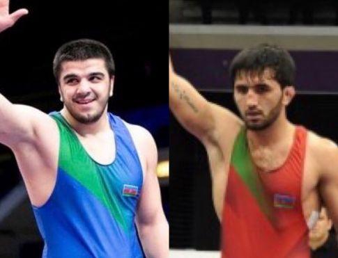 Azerbaijani wrestlers win six medals during one day in Georgia