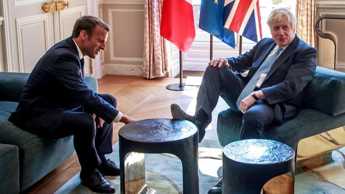 Boris Johnson fait comme chez lui au palais de l