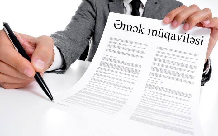 Özəl sektorda 78 min əmək müqaviləsi bağlanıb