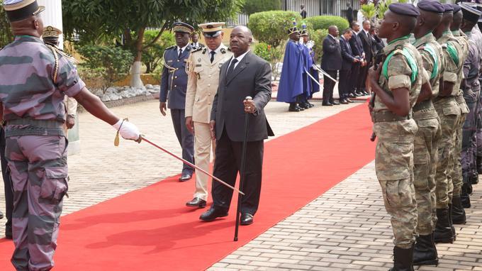 Le président gabonais Ali Bongo réapparaît après son AVC