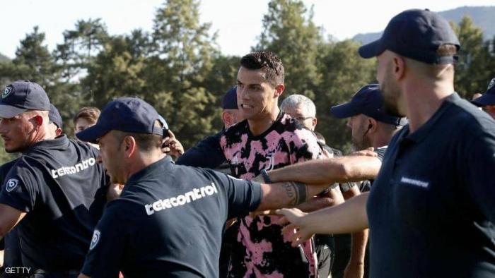 في مباراة الأزمة.. الأمن ينقذ رونالدو