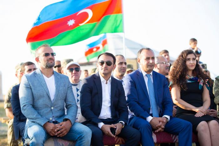 """""""Hərbiyyə"""" hərbi-vətənpərvərlik düşərgəsi - VİDEO+ FOTOLAR"""