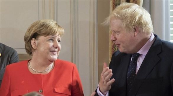 ميركل تعتزم لقاء رئيس وزراء بريطانيا بشأن بريكست