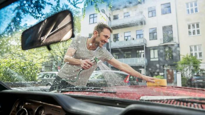 So waschen Sie Ihr Auto richtig