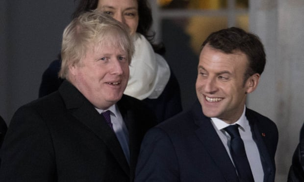 Johnson and Macron to hold 'frank' Brexit talks in Paris