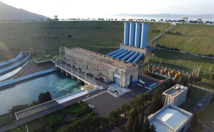 Azerbaijan repairing Mingachevir Hydroelectric Power station