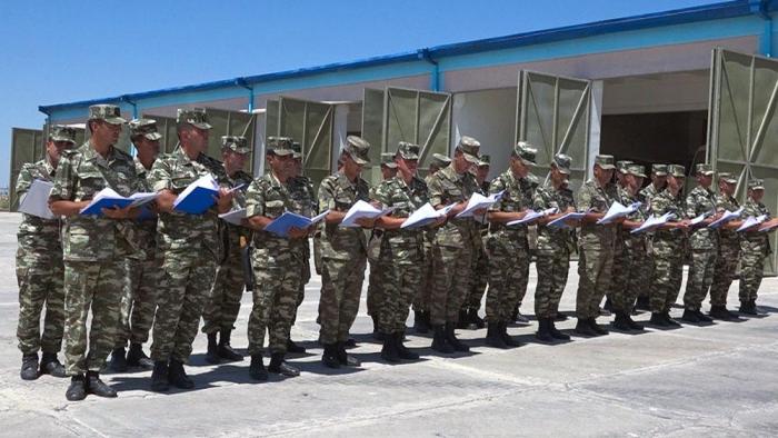 Command and staff exercises underway in Azerbaijan's Nakhchivan military garrison