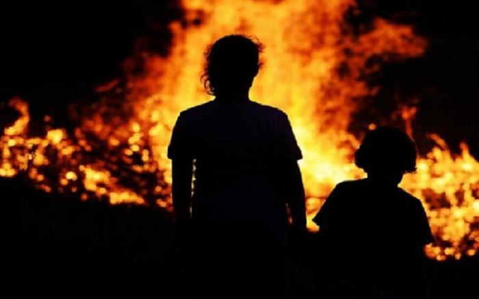 Arvadını və uşağını yandıran kişi 3 dəfə evli olub - Təfərrüat