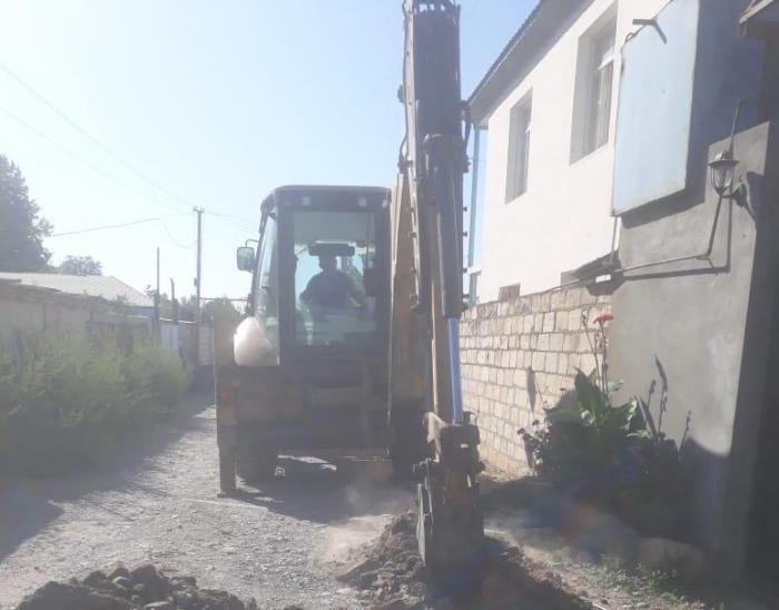 Traktor qaz xəttini zədələdi, 400 ev qazsız qaldı