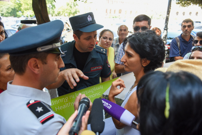 احتجاج في يريفان مرة أخرى -  صور