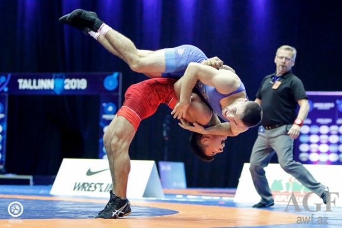 Luchador azerbaiyano gana plata en el Campeonato Mundial