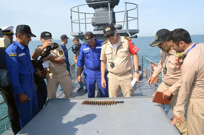 Crews of several countries' warships fulfill exercise within