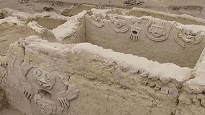 Peru: 3,800-year-old Caral civilisation mural found