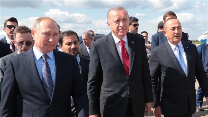Turquie/Russie: Erdogan est arrivé à Moscou