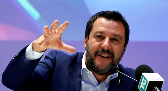 حركة 5 نجوم الإيطالية: سالفيني لم يعد شريكا محل ثقة