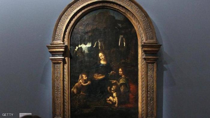 """اكتشاف """"سر خفي"""" في لوحة رسمها دافنشي قبل أكثر من نصف قرن"""