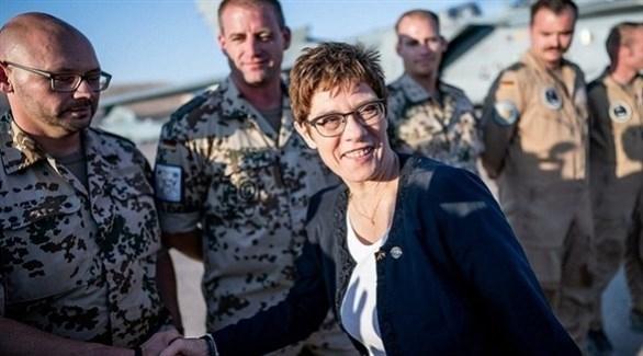 وزيرة الدفاع الألمانية تصل إلى إقليم كردستان العراق