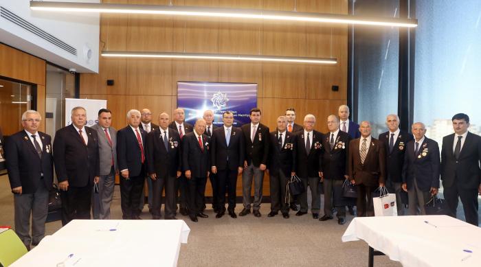 Türkiyəli veteranlar Azərbaycana gəliblər