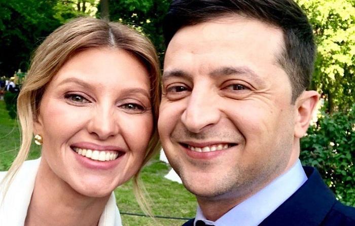 """""""Həyat yoldaşım güləndə mən xoşbəxt oluram"""" - Zelenski"""