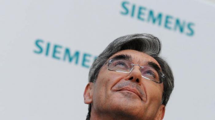 Was wird aus Siemens und seinem Chef?