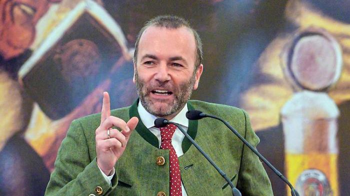 Weber flirtet mit den Grünen
