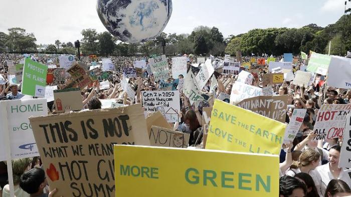Australier läuten globalen Klimastreik ein