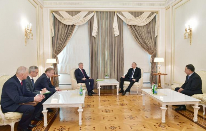President Ilham Aliyev receives State Secretary of Belarus' Security Council