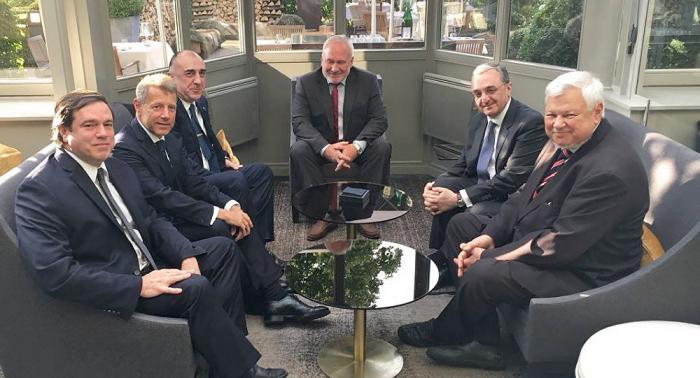 Aserbaidschanische und armenische Außenminister treffen sich in den USA