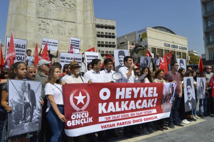 İrəvanda terrorçuya heykəl qoyuldu, Türkiyə etiraza qalxdı - FOTO